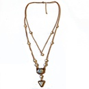 Alloy Fashion  necklace  number 1  Fashion Jewelry NHOM1649number1
