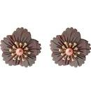 Alloy Fashion Flowers earring  White1  Fashion Jewelry NHQD6424White1