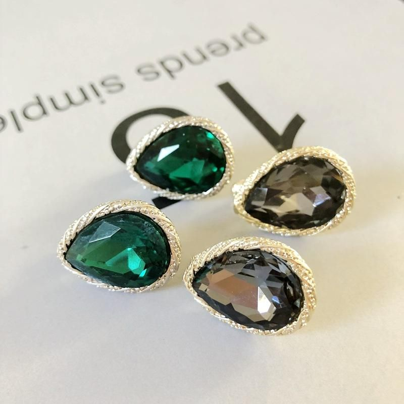 Womens teardrop plating alloy Earrings OM190410116520