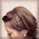 Womens geometric plating alloy Hair Accessories MS190410116489