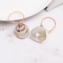 Womens Shell Seashell Earrings JJ190410116609