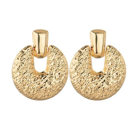Womens Geometry Electroplating Alloy  exaggeration Earrings BQ190411116677's discount tags