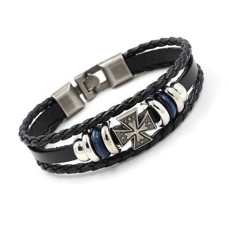 Unisex geometry plating alloy Bracelets & Bangles HM190411116690's discount tags