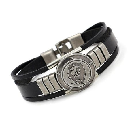 Mens Other Leather  Student Harlan Bracelets & Bangles HM190411116713's discount tags
