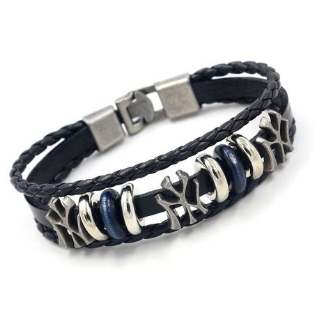 Unisex letters/numbers/text plating alloys Bracelets & Bangles HM190411116726's discount tags