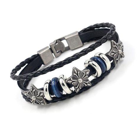 Unisex Star Plating Alloy  Pentagram rivet Bracelets & Bangles HM190411116733's discount tags
