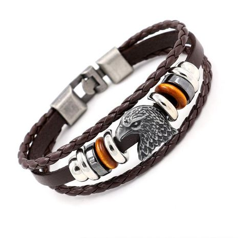 Mens Animals / Zodiac Beads Bracelets & Bangles HM190411116734's discount tags