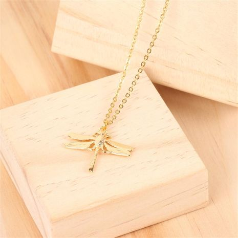Womens Titanium Steel Alloy dragonfly Necklaces PY190411116736's discount tags