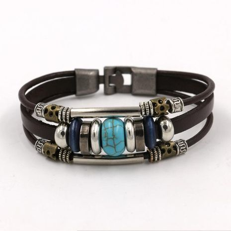 Unisex geometric gemstones  Multi-layer fashion Bracelets & Bangles HM190411116749's discount tags