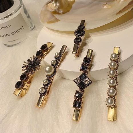 Geometric plating alloy Hair Accessories YT190411116768's discount tags