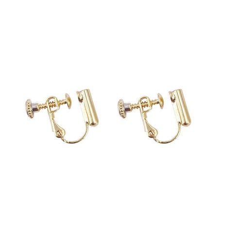 Unisex ear clip plating copper enamel adjustable size Earrings YT190411116776's discount tags