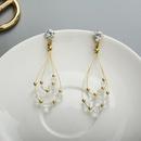 Womens teardropshaped beads  Simple Earrings YT190411116772