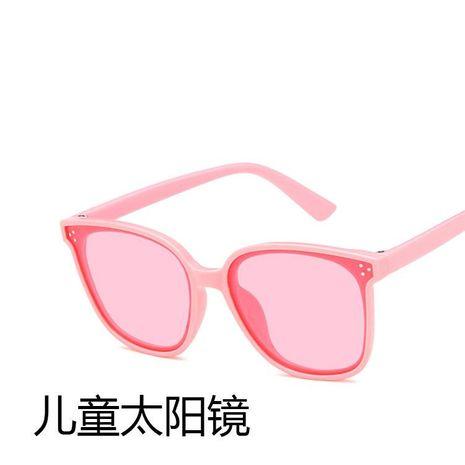 PC PC Gafas de sol Cuadrados Niños Chicas Gafas de sol Moda Padres salvajes KD190412116918's discount tags