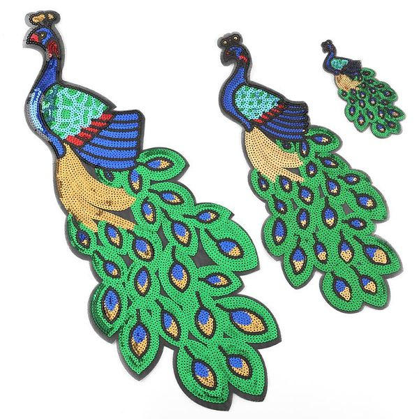 Peacock high-end clothing accessories boutique sequin embroidery DX190412116947
