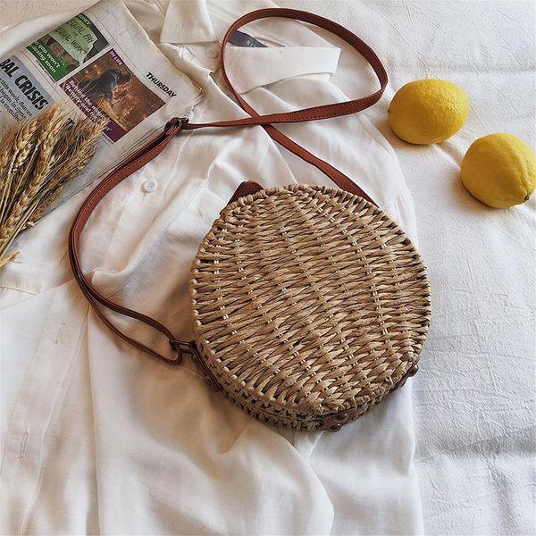 Hand-woven bag diagonal cross bag shoulder bag TC190413117096