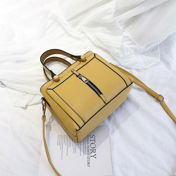 New tide spring and autumn shoulder bag ins super fire Korean version of the wild Messenger bag TC190413117148