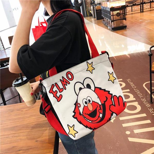 Sen is funny girl graffiti handbag HX190413117335