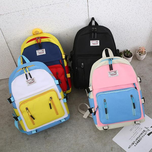 PU leather Backpack LD190413117426