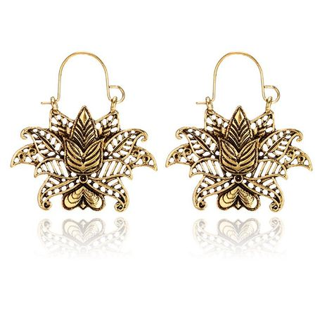 Womens Fashion vintage openwork flowers  Earrings GY190416117570's discount tags