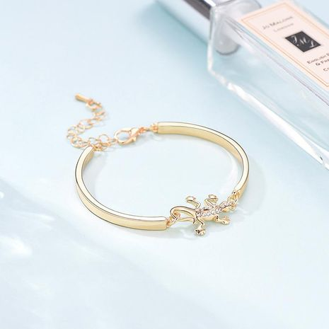 Womens Animal / Zodiac Plating Alloy The same rhinestone inlaya Bracelets & Bangles LP190416117709's discount tags
