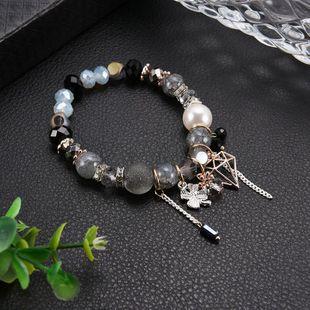 Unisex Geometric Glass / Glass Bracelets & Bangles LP190416117713's discount tags