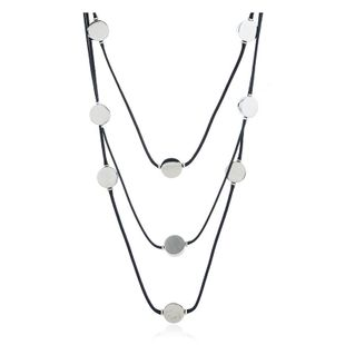 Womens geometric plating Fashion multi-layer handmade multi-layer alloy Necklaces KQ190416117747's discount tags