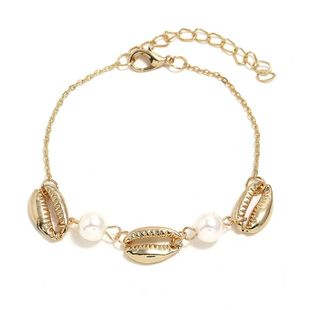 Womens Shell Plating Alloy  Simple ethnic style Bracelets & Bangles KQ190416117756's discount tags