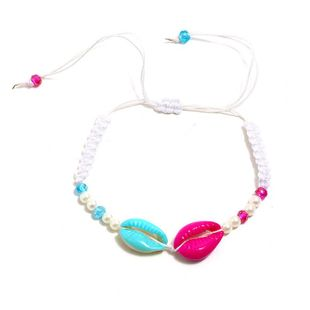 Womens Shell Plating Alloy Shell color tassel Bracelets & Bangles KQ190416117761's discount tags