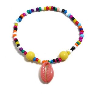 Childrens shell plating alloy Hand-woven string beads Bracelets & Bangles KQ190416117768's discount tags