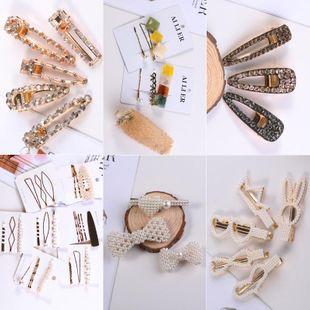 Womens Geometric Handmade Metal Hair Accessories KQ190416117790's discount tags