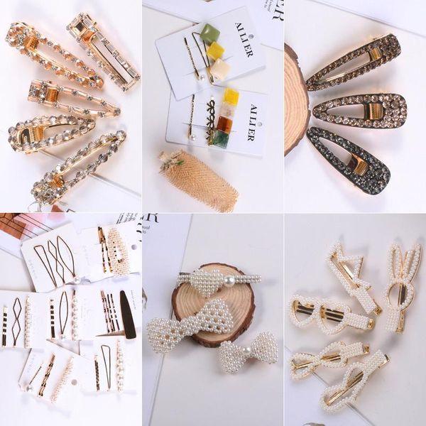 Womens Geometric Handmade Metal Hair Accessories KQ190416117790
