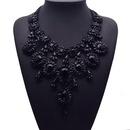 Womens teardrop gemstone alloy Necklaces JQ190416117434