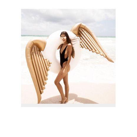 Ordinaire PVC Nouveau créatif alliageen ailes de natation anneau épaississement adulte eau anneau enfants nager anneau WW190417117919's discount tags
