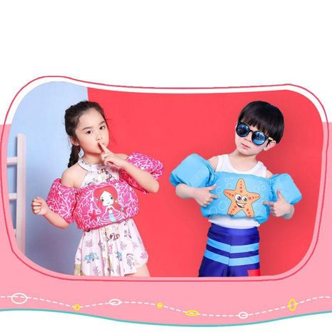 Children s life jacket buoyancy vest baby floating suit swimming arm foam lifebuoy sleeve WW190417117923's discount tags