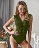 Hot sale 2019 summer new V-neck lace sexy jumpsuit DU190417117940