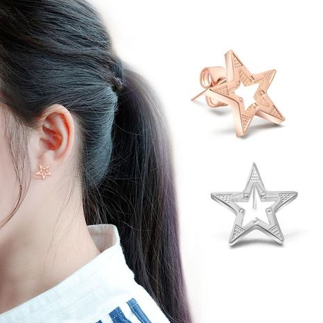Womens Star Stainless Steel  Other Earrings OK190418118037's discount tags