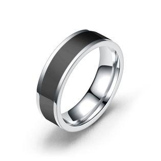 Unisex de acero inoxidable en forma de diamante Teng Sui Anillos TP190418118111