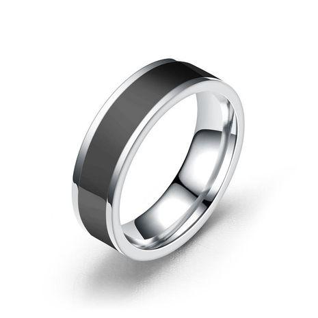 Unisex de acero inoxidable en forma de diamante Teng Sui Anillos TP190418118111's discount tags