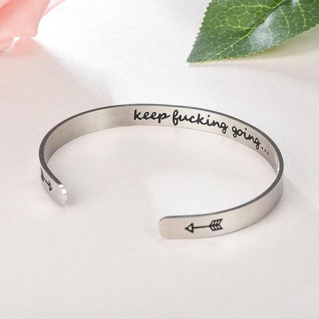 Unisex Heart Shaped Stainless Steel Bracelets & Bangles TP190418118124's discount tags