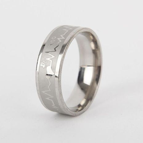 Unisex Rhinestone Couple  Stainless Steel Rings TP190418118131's discount tags