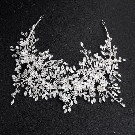 Womens Floral Imitated crystal Bridal Hairband Hair Accessories HS190418118168's discount tags