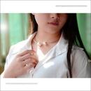 Womens  Wild size beads rose alloy Titanium Steel Necklaces OK190418118006