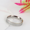 Unisex Rhinestone Couple  Stainless Steel Rings TP190418118131