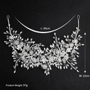 Womens Floral Imitated crystal Bridal Hairband Hair Accessories HS190418118168