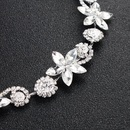 Womens  Exquisite rhinestone star Floral Plating Alloy Hair Accessories HS190418118177