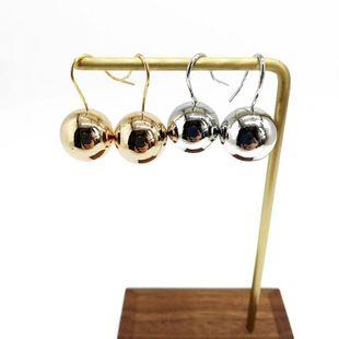 Womens  Fashion beautiful ball Earrings OM190419118276's discount tags