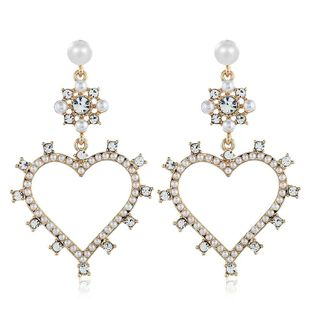 Womens Geometry Electroplating  Simple and versatile Alloy Earrings VA190419118335's discount tags