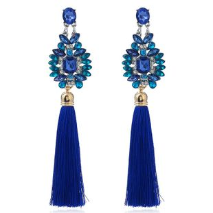 Womens Other Handwoven Long temperament personality exquisite creative retro Alloy Earrings VA190419118350's discount tags