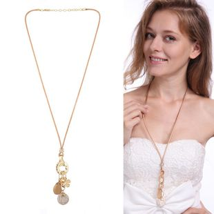 Womens tassel plating Fine flower alloy Necklaces XS190419118392's discount tags