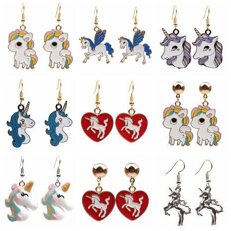 Feminine / Zodiac Grease Metal Miner Earrings YL190422118607's discount tags